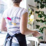 MINTprint Trusis Kafe kafejnīcas darba apģērbs