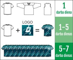 MINTprint sporta apģērbu ražošana