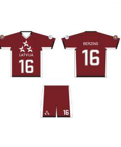 MINTprint Lakross krekls Latvijas izlases forma