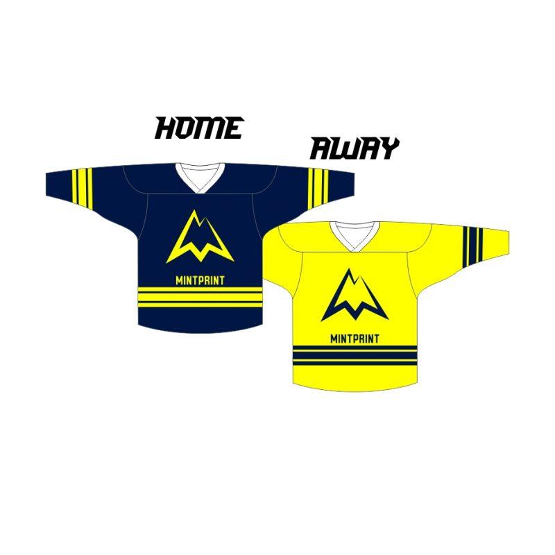 MINTprint hokeja komandu kreklu komplekts