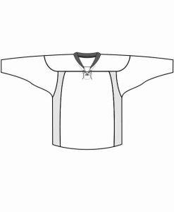 Mintprint Allstar hokeja krekls LACE kakls ar ventilaciju