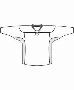 Mintprint PlayOff hokeja krekls LACE kakls ar ventilaciju