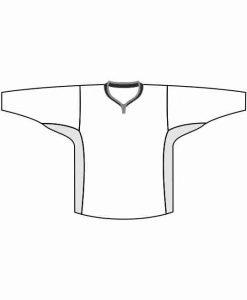 Mintprint elite hokeja krekls Y kakls ar ventilaciju