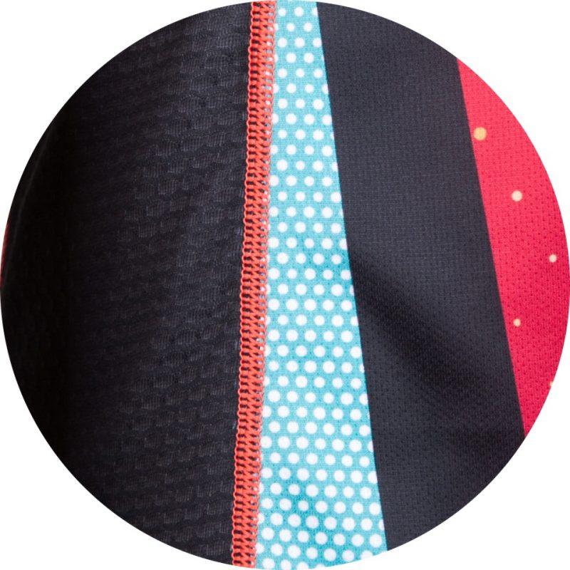 Skriešanas krekls vīriešiem Zip Extra garroku 1
