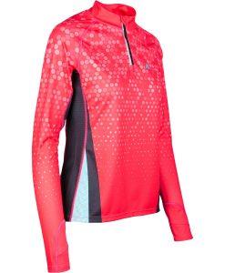 Garroku skriešanas krekls ar rāvējslēdzēju Mintprint