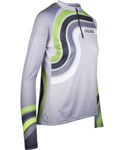 Sieviešu skriešanas krekls ar garām piedurknēm Mintprint
