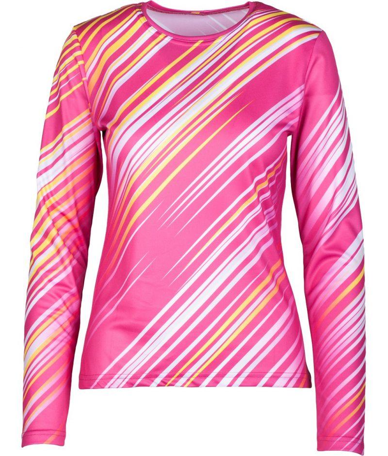 Skriešanas krekls sievietēm ar garām piedurknēm Mintprint