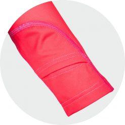 Orientēšanās krekls sievietēm Zip Extra garroku 9