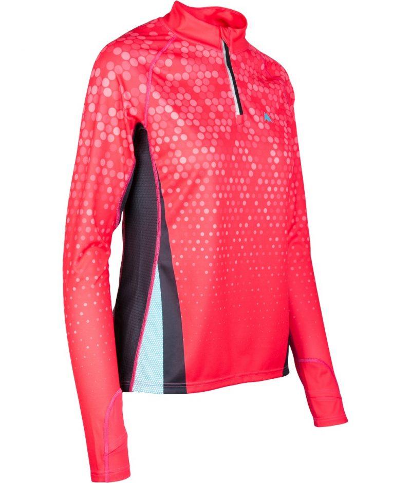 Orientēšanās krekls sievietēm Zip Extra garroku 3