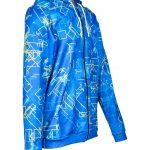 Skriešanas jaka ar individuālu dizainu Mintprint