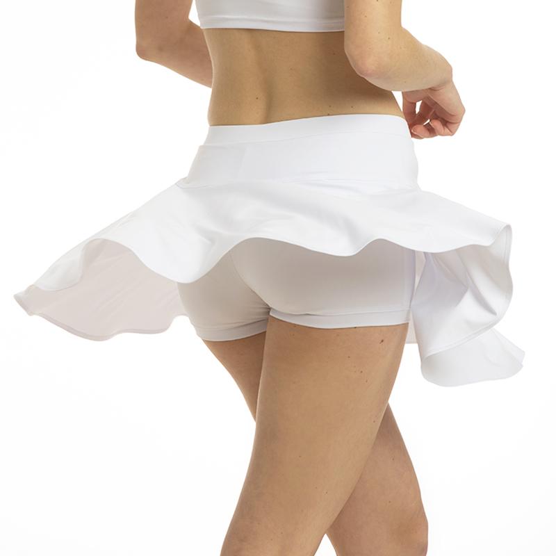 Kupli dejošanas svārki ar apakššortiem