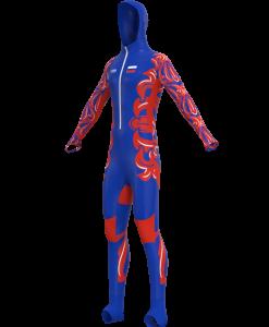 Skeletona kombinezonu ražošana