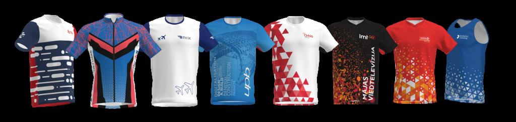 Sporta krekli maratonam Rīgā MINTprint