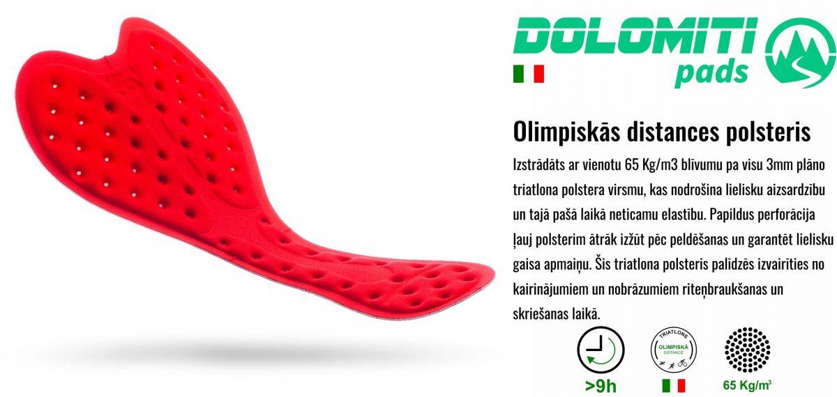 Informācija par Triatlona polsteriem MINTprint triatlona tērpos