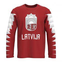 Latvijas hokeja izlases fanu krekls