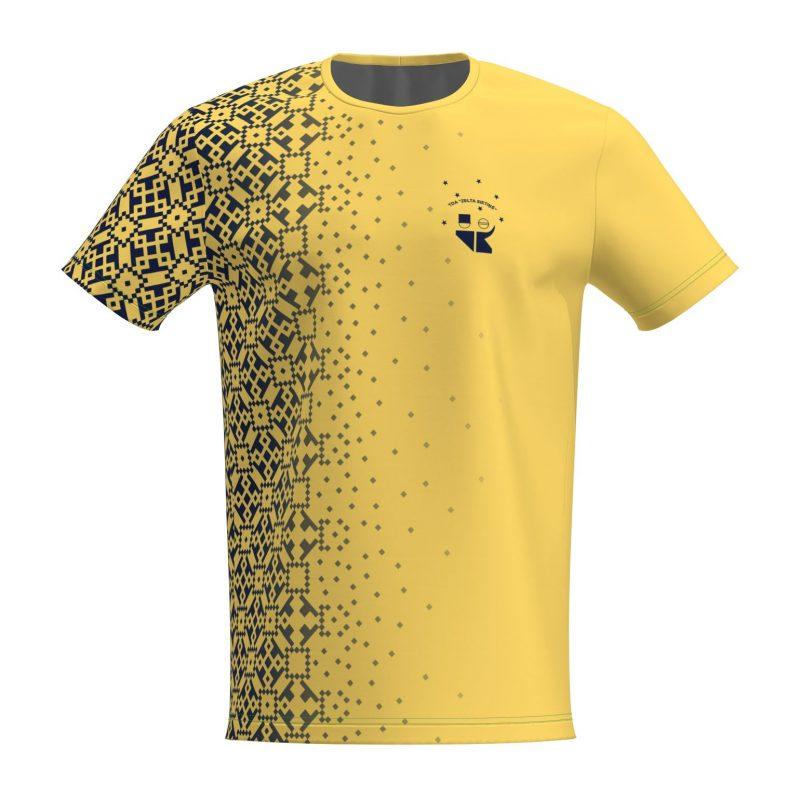 Deju T-krekls Dzeltenais Zelta Sietiņš