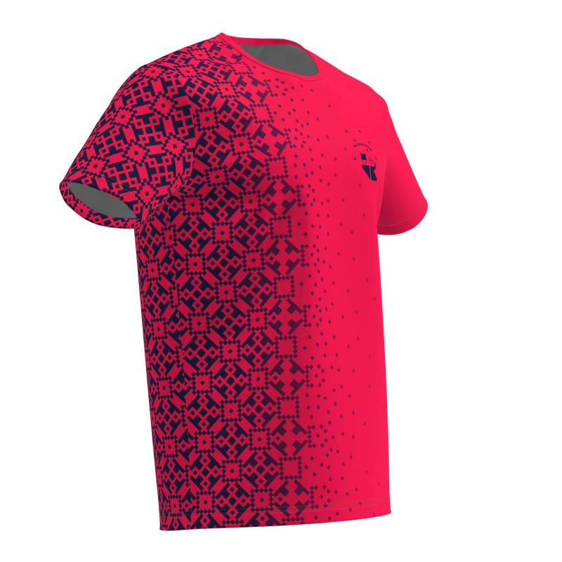 Deju T-krekls Rozā Zelta Sietiņš