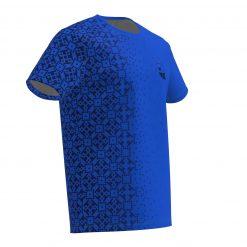 Deju T-krekls Zilais Zelta Sietiņš