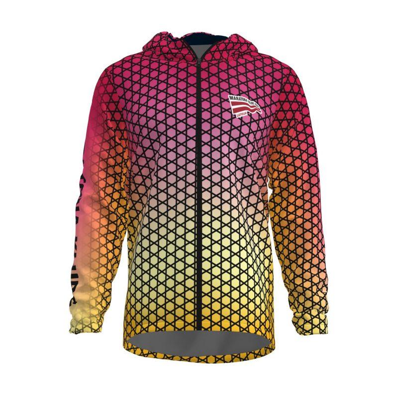 Siltā jaka ar kapuci Maratona klubs sieviešu