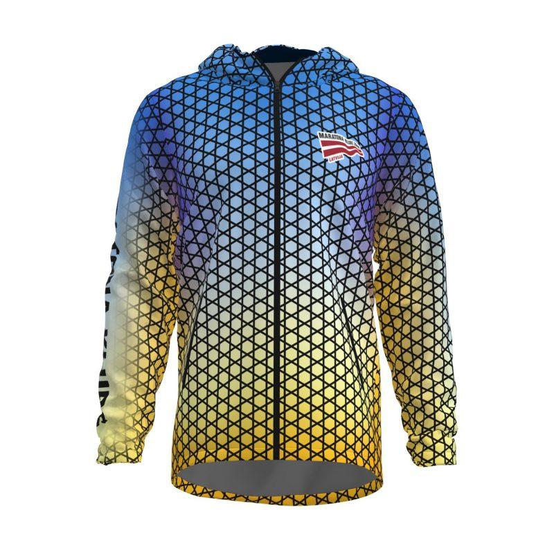 Siltā jaka ar kapuci Maratona klubs vīriešu