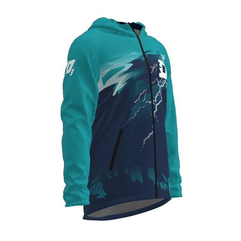 Siltā jaka ar kapuci Ozons