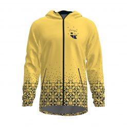 Siltā jaka ar kapuci Zelta Sietiņš dzeltenais