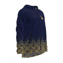 Siltā jaka ar kapuci Zelta Sietiņš tumši zilais