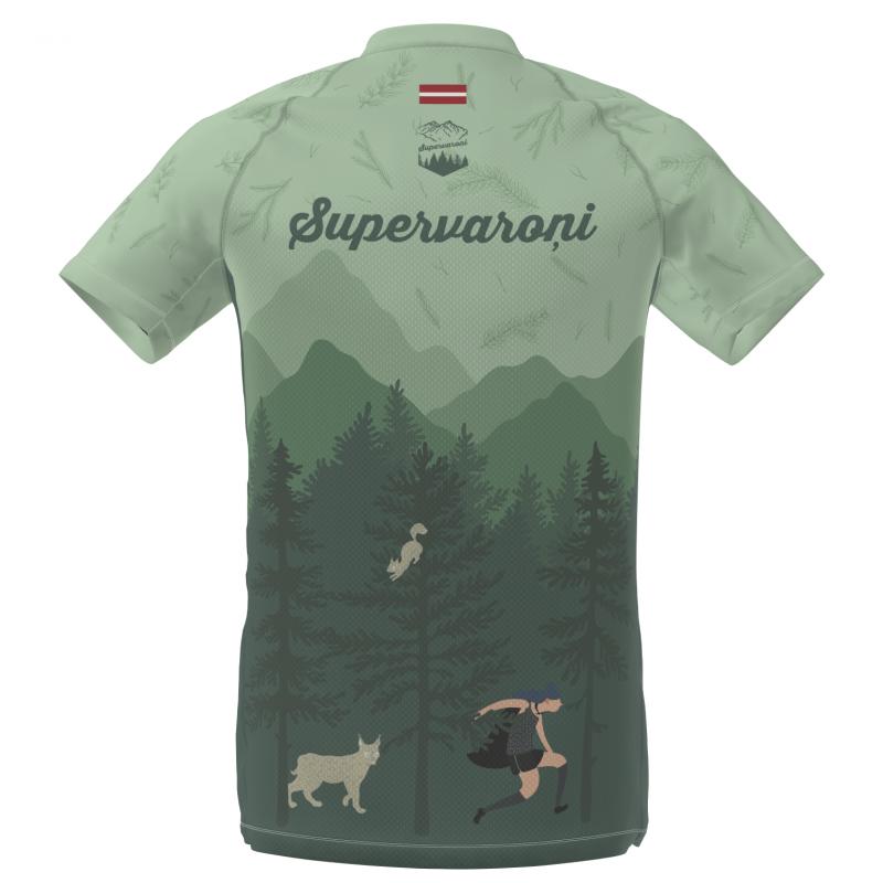 Skriešanas krekls Supervaroņi