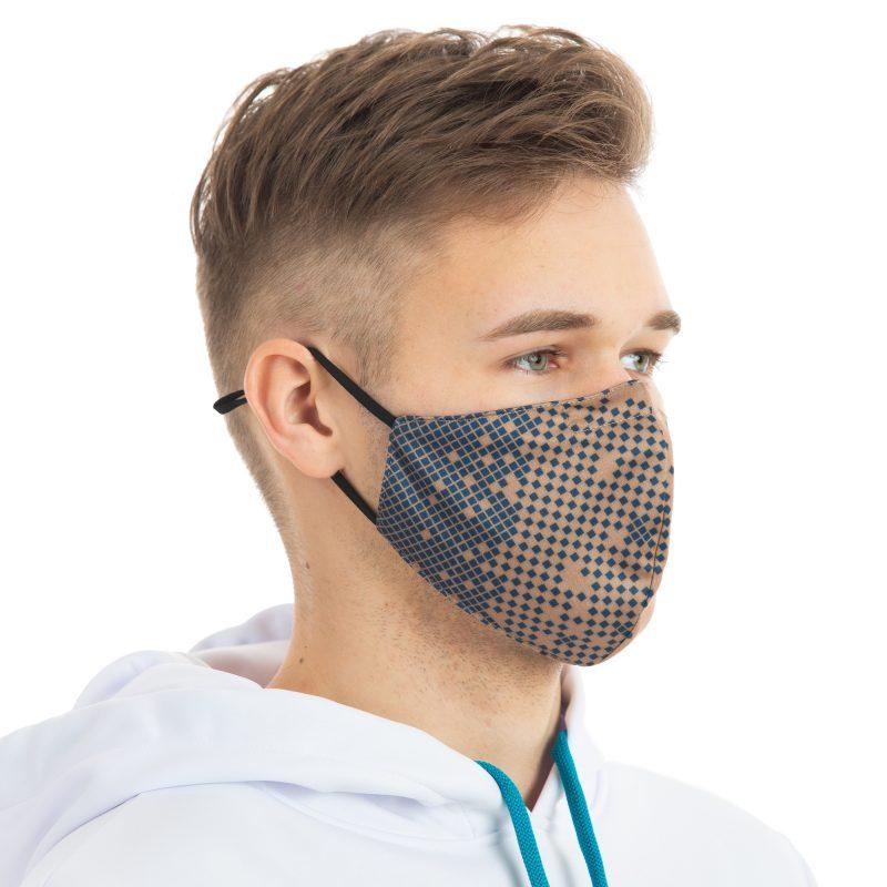 Auduma sejas maskas ar apdruku