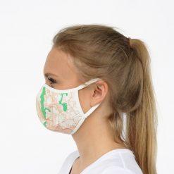 Sejas maska ar apdruku