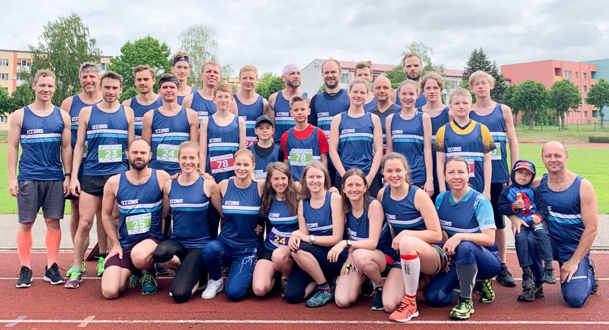 Ozons Latvijas čempionātā sprinta stafetēs 2019
