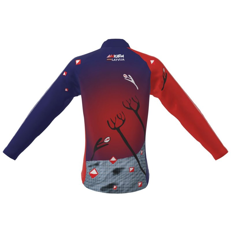 Orientēšanās sacensību krekls Kāpa - Carnikava ar garām piedurknēm