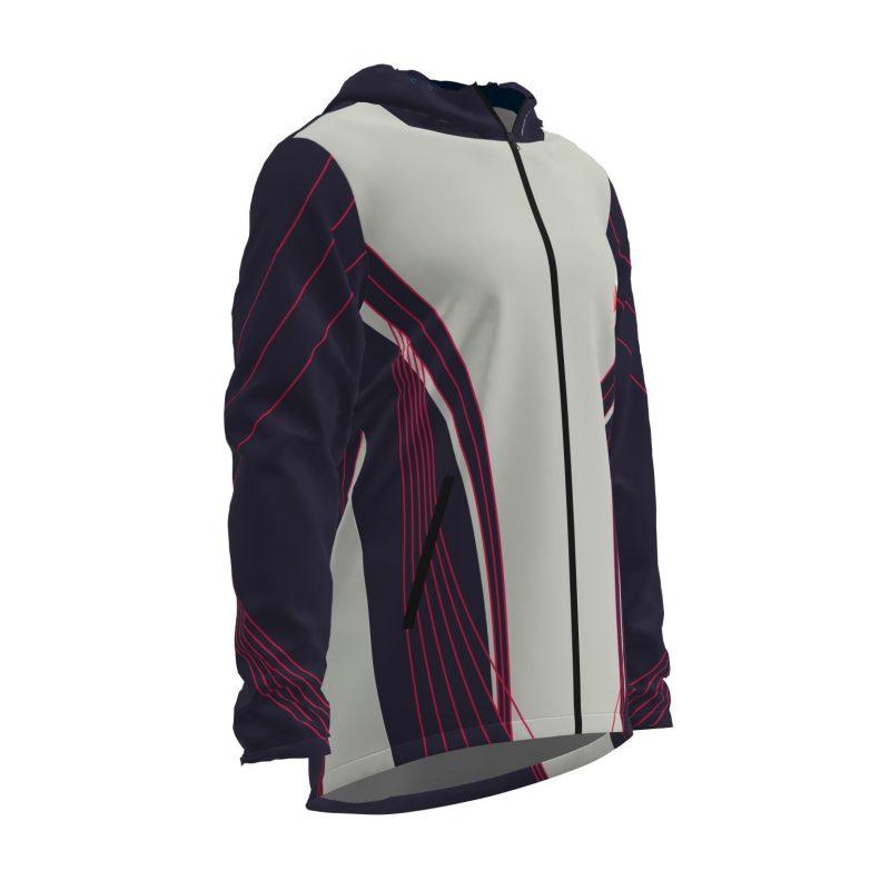 Siltā jaka ar kapuci Kāpa