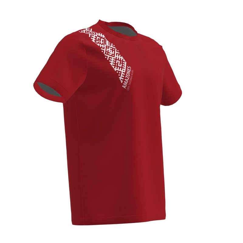 Loka šaušanas T-krekls Amazones komandai