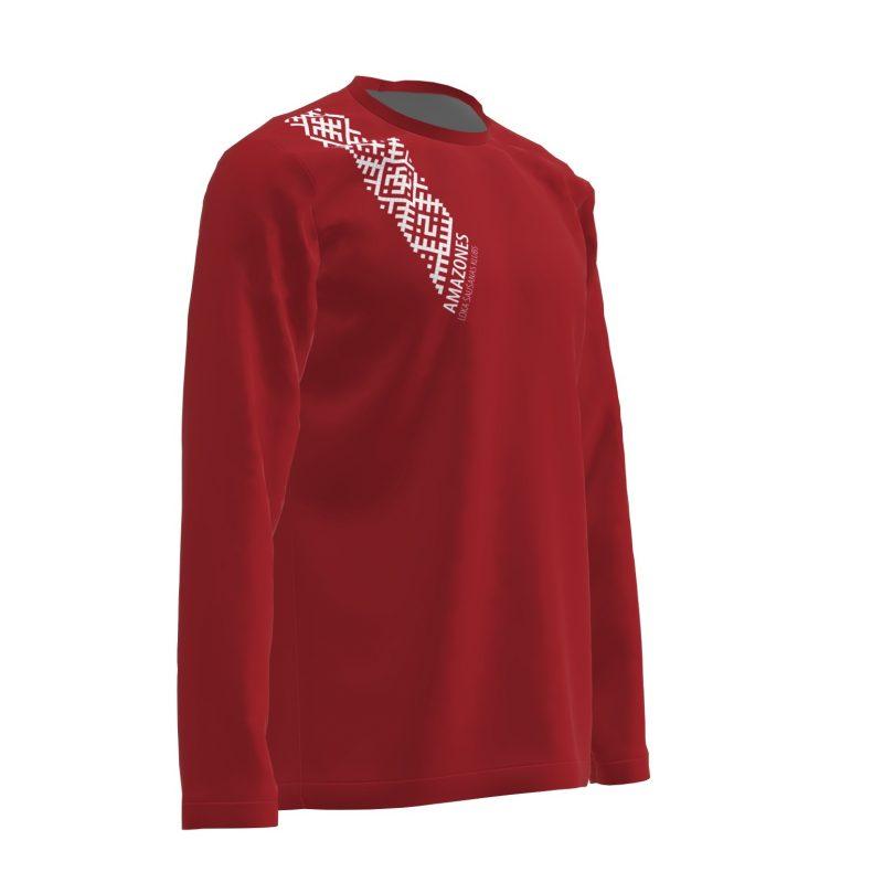 Loka šaušanas krekls Amazones ar garām piedurknēm