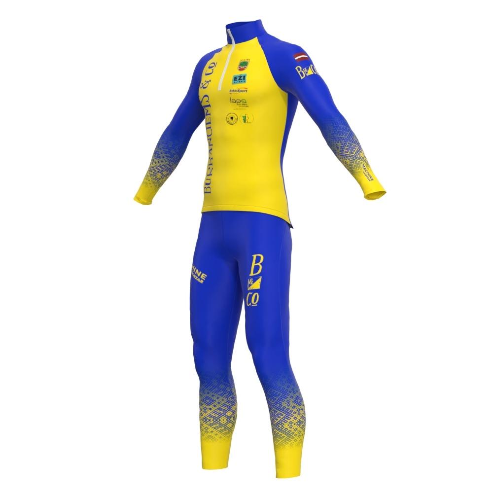 Distanču slēpošanas apģērbs