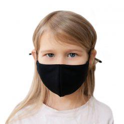 Melnas sejas maskas bērniem