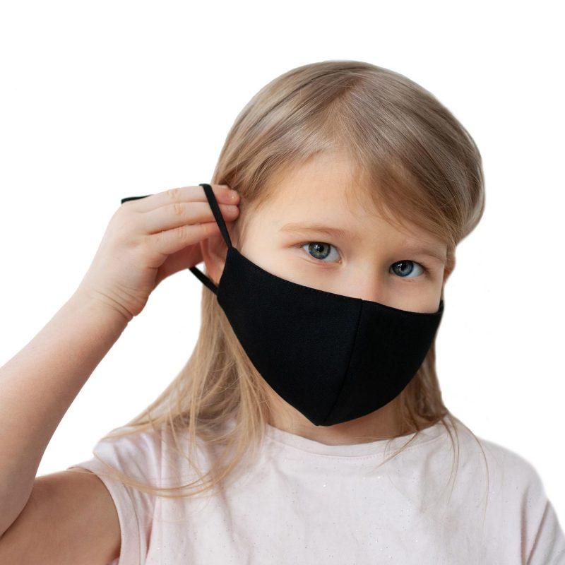 Melnas sejas maskas pusaudžiem ar savilcējiem