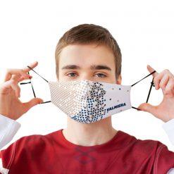 sejas maskas auduma ar savilcējiem