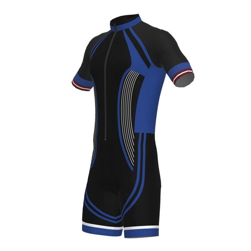 Ātruma skrituļslidošanas tērps sportistiem ar komandas dizainu