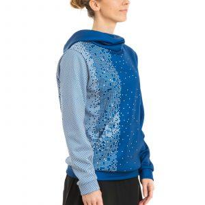 Komandas džemperis ar kapuci sieviešu