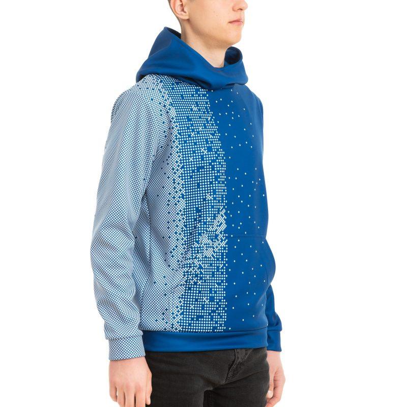 Komandas džemperis ar kapuci vīriešu