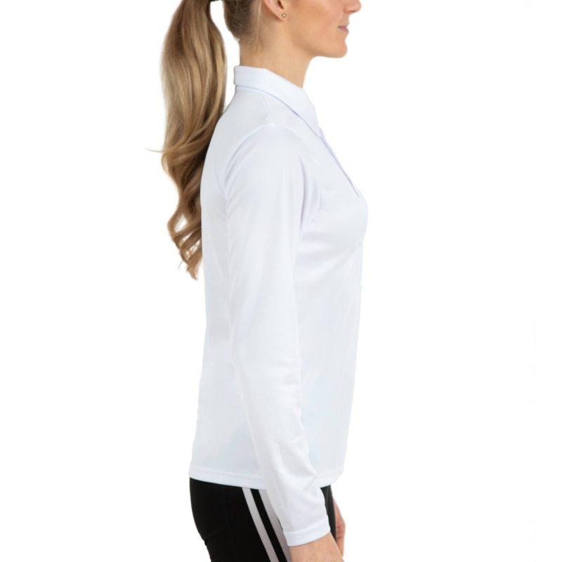 Polo krekls ar garām piedurknēm sieviešu
