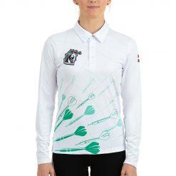 Polo krekls ar garām piedurknēm sieviešu 2021