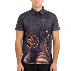 Polo krekls reglāna ar spiedpogām