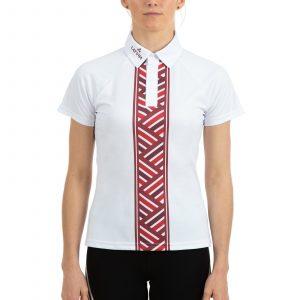 Polo krekls reglāna ar spiedpogām sieviešu