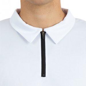 Piemērs polo kreklam ar rāvējslēdzēju