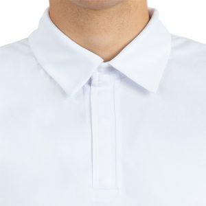 Piemērs polo kreklam ar spiedpogām
