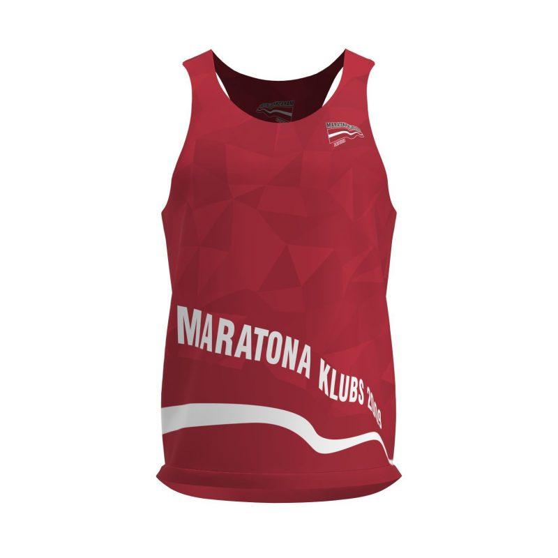 Skriešanas tops Maratona klubs Sarkans
