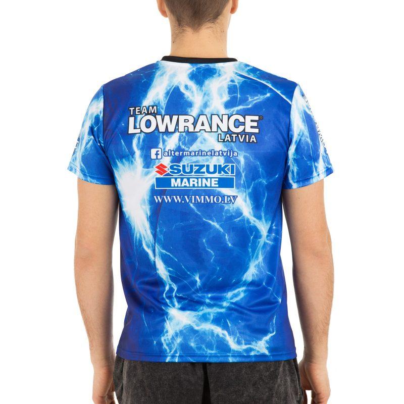 T-krekls makšķerēšanas komandai